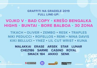 GNG line up 2019.