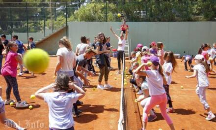 WTA Croatia Bol Open: Kid's day