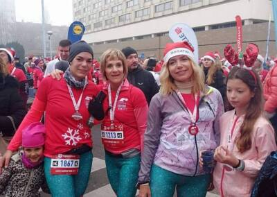 Boljani u Zagrebu na utrci Advent run 07