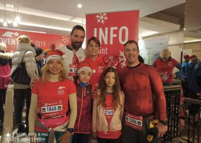 Boljani u Zagrebu na utrci Advent run 09